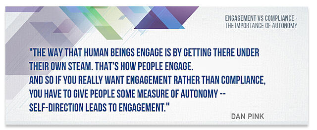 Engagement is compliance
